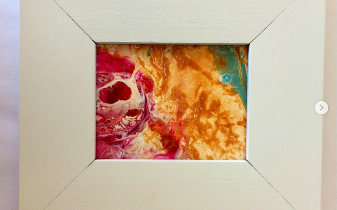 Painted frames – Instagram